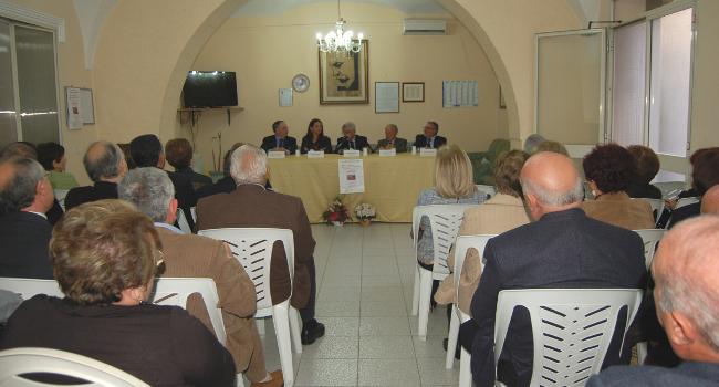 Presentazione del libro di Merlo al Pirandello (Foto di Enzo Minio)