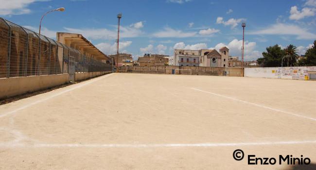 Calcio Ribera Stadio comunale Nino Novara (Foto Enzo Minio)