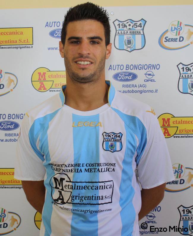 Calcio Ribera ANTONINO CAMPANELLA (Foto Enzo MInio)