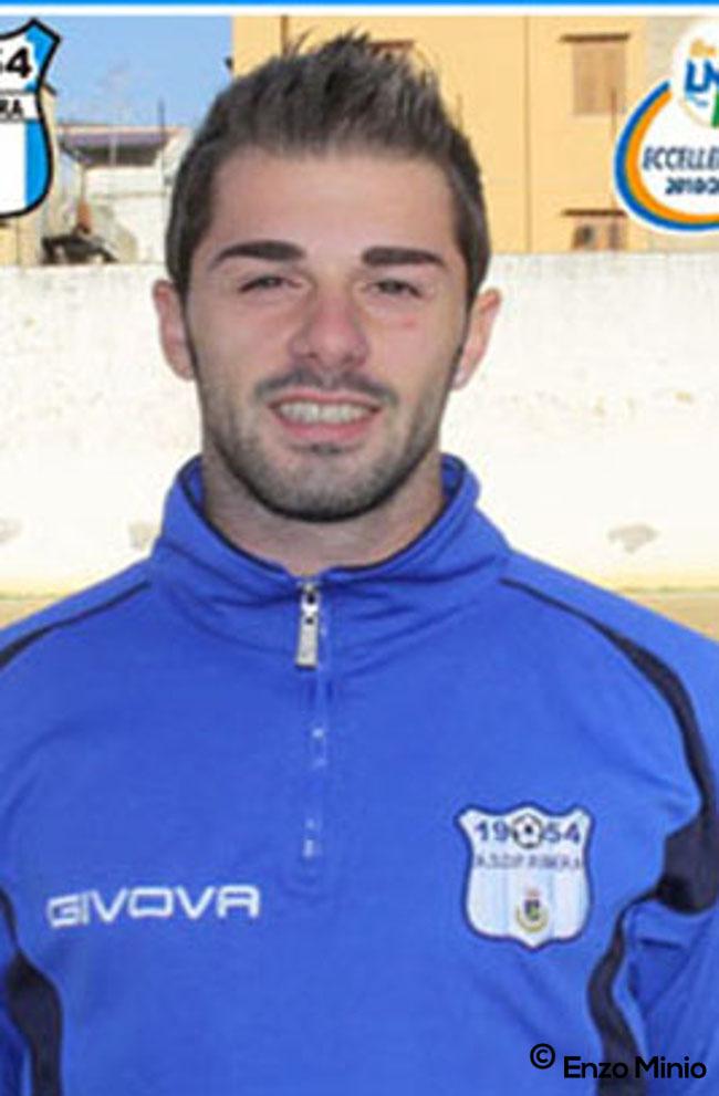 Calcio Ribera Vincenzo Martorana (Foto Enzo Minio)