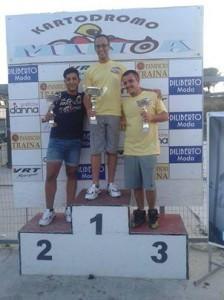 I Vincitori del campionato regionale di karting (1)