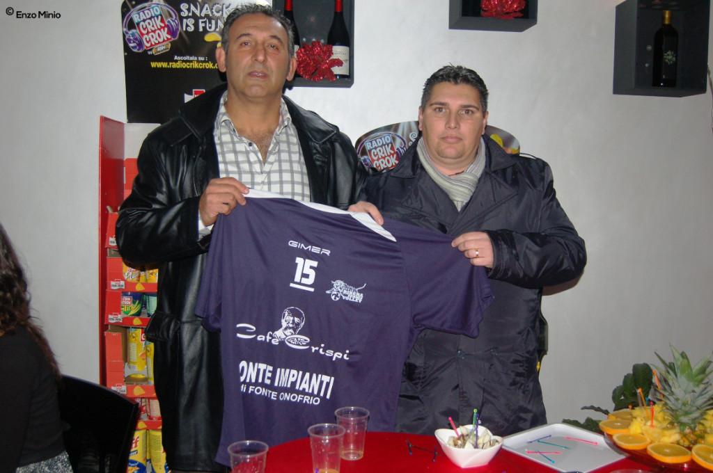 Giuseppe Di Giorgi e Sandro Alfano Foto Minio