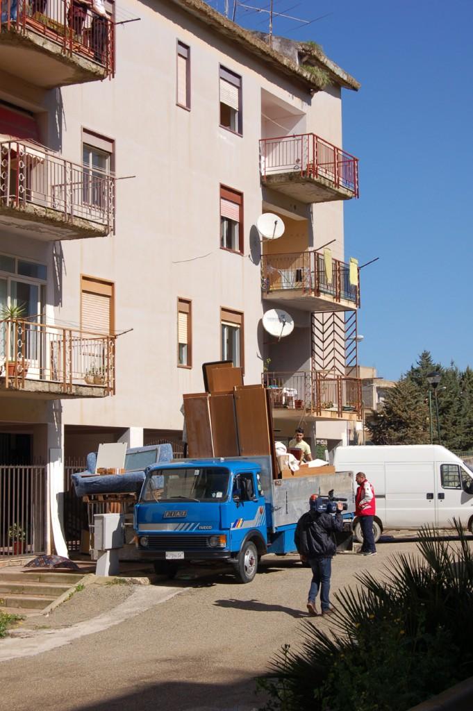 Ribera I proprietari lasciano le case