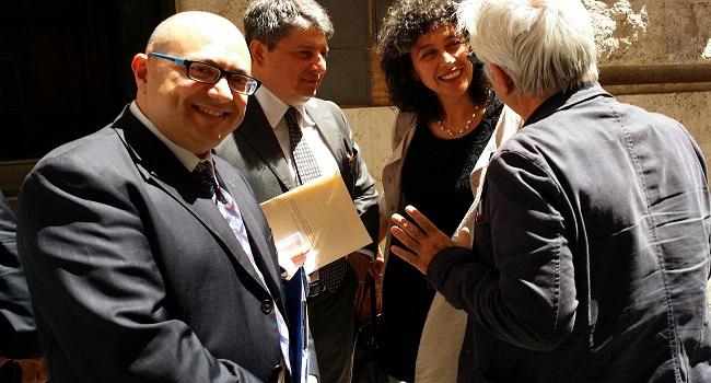 Ribera l istituto toscanini al parlamento italiano per for Lavorare al parlamento italiano