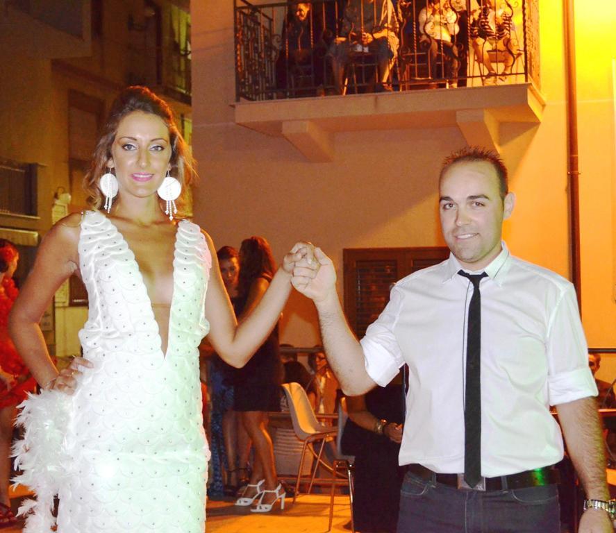Lucca Sicula Arianna Bellafiore e Simone Tramuta