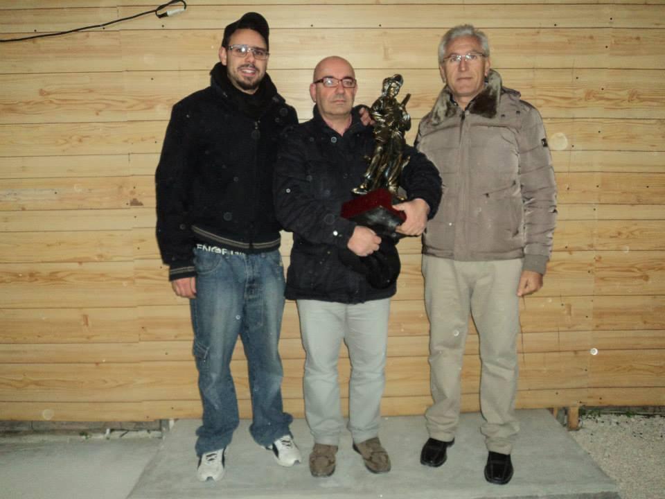poligono Air Fire Lino, Bartoccelli e Piazza