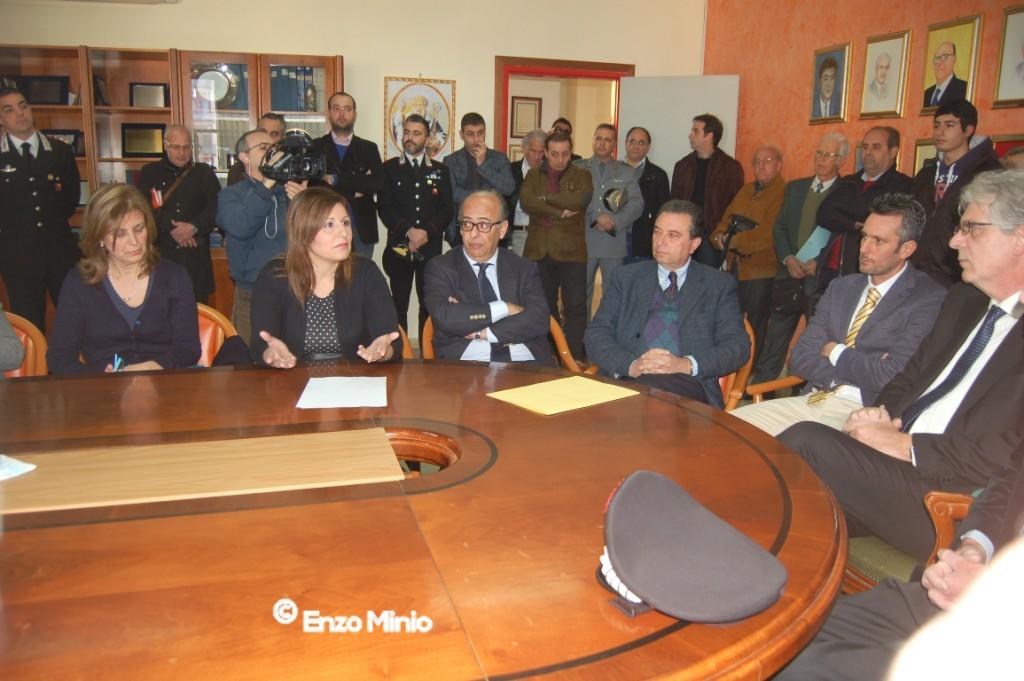 riunione beni confiscati mafia 2 FOTO MINIO