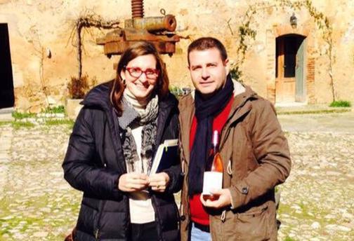 Melissa Muller Daka in Sicilia al Feudo Montoni