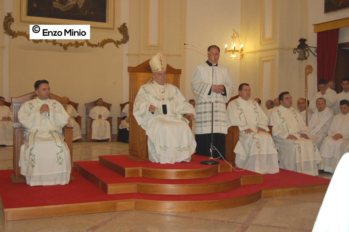 Ordinazione tre diaconi FOTO MINIO