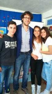 Ribera Incontro degli alunni Crispi con prof. Campanella2