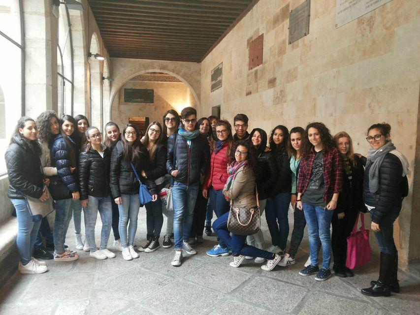 Studenti liceo Crispi in Spagna 2