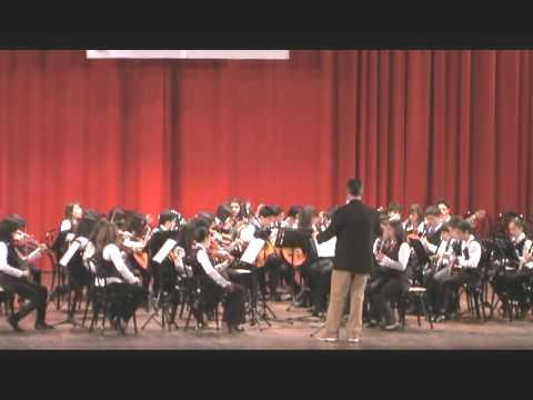 orchestra istituto comprensivo Crispi Ribera