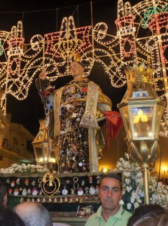 Calamonaci Festa san Vincenzo Ferreri