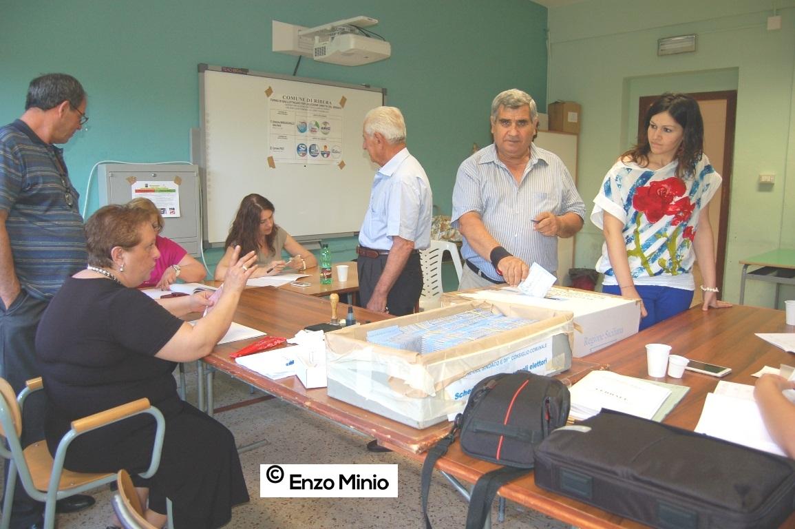 Elezioni amministrative 14 giugno 15 FOTO MINIO