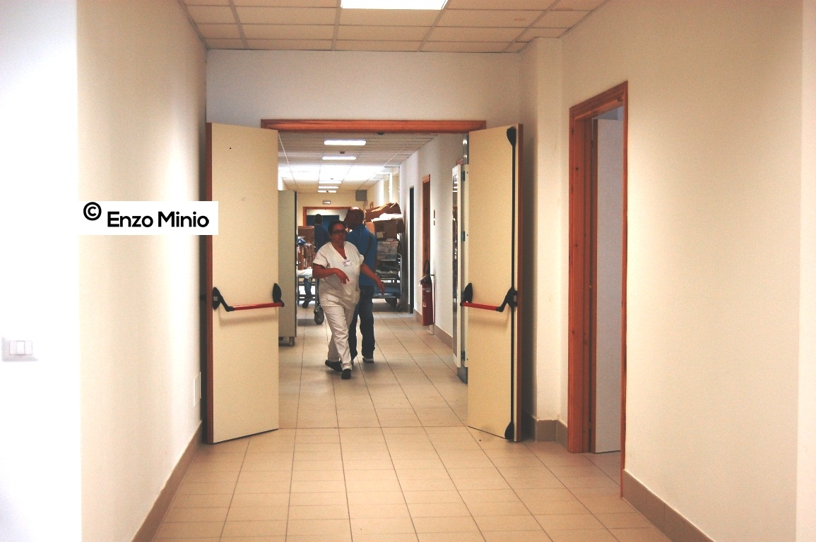 ospedale, ingresso nuovo pronto soccorso FOTO MINIO (2)