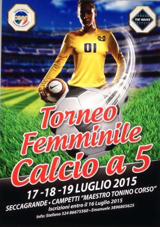manifesto calcio femminile