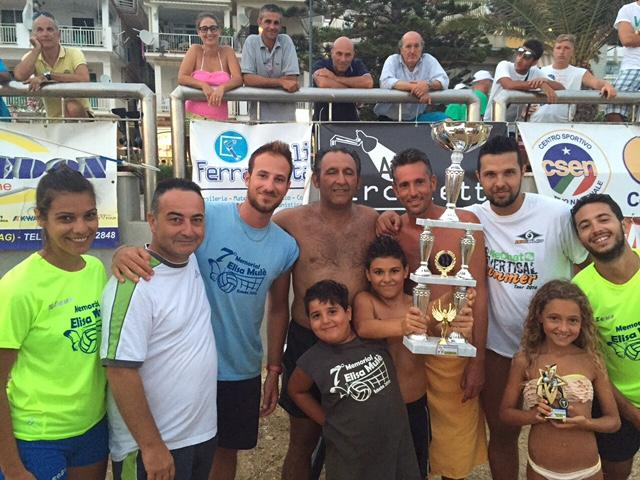 Beach Volley 2015 i vincitori