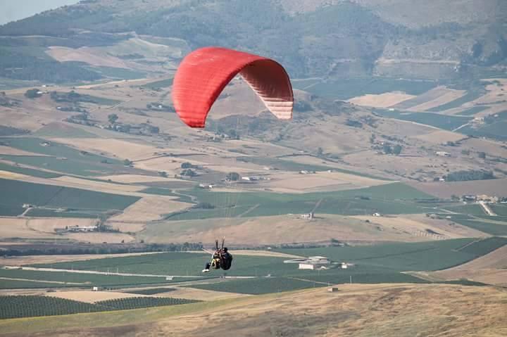 Bivona volo tra i Monti Sicani