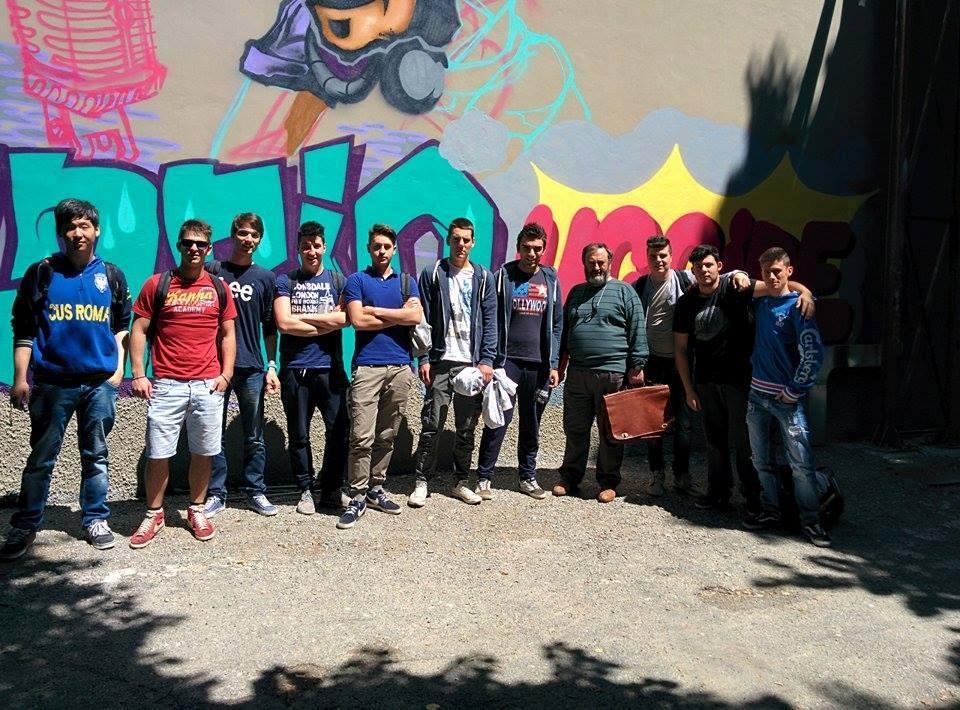 Cianciana murales studenti