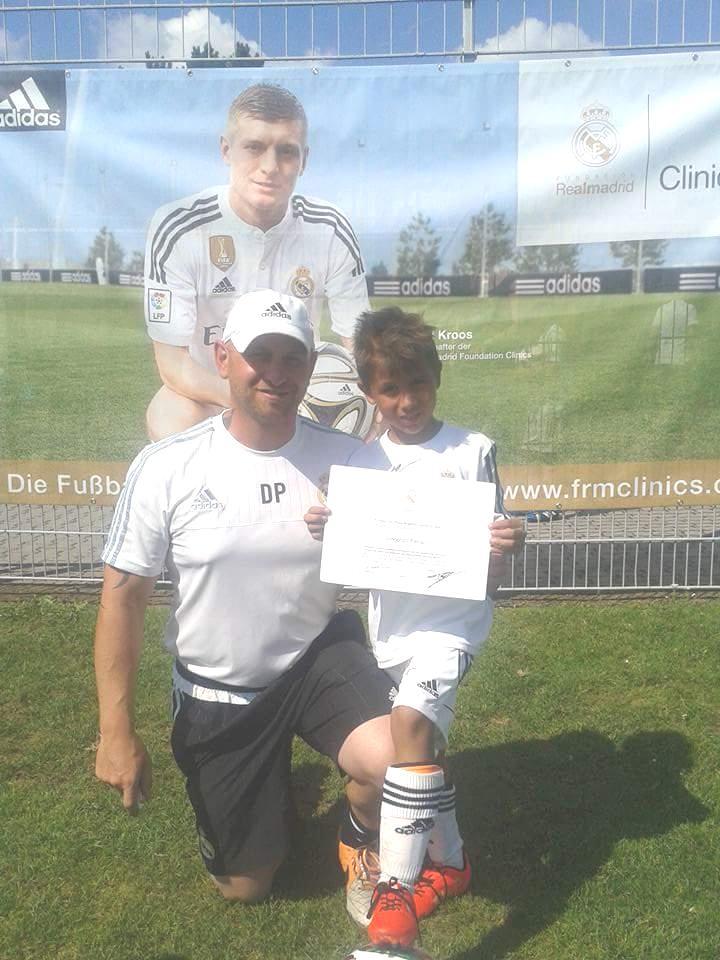 Enzo Ferraro nel Real Madrid 2 (2)