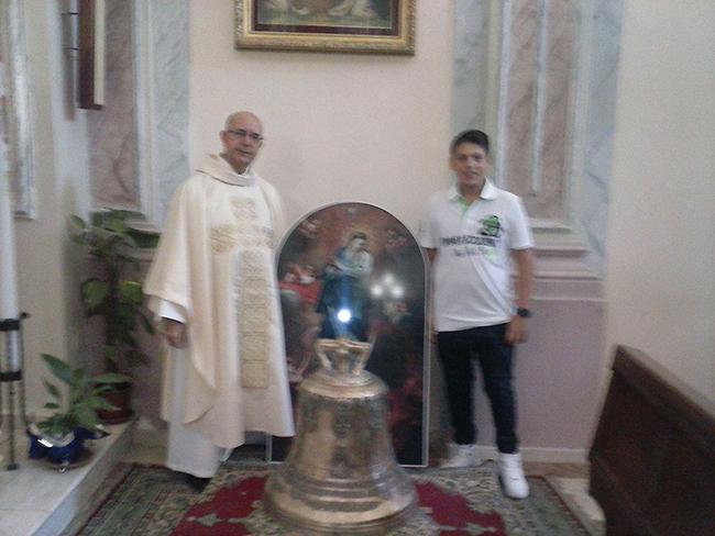 Ribera La nuova campana dell'Immacolata