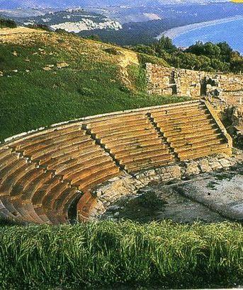 Eraclea Minoa teatro greco