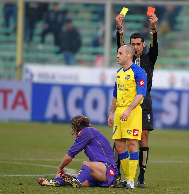 Italiano Vincenzo espulso