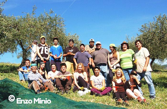 Lucca-Sicula-Gli-studenti-tedeschi-posano-durante-la-raccolta-delle-olive-FOTO-ENZO-MINIO