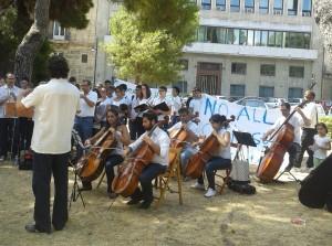 Studenti Toscanini protesta alla Regione