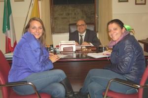 Toscanini Intervista al direttore Claudio Montesano nella foto con Vanessa Schifano e Cristina Cortese