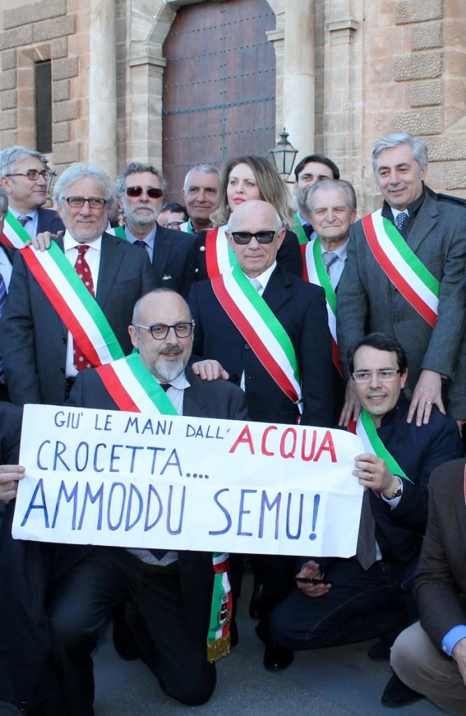 acqua-pubblica protesta sindaci Palermo - Copia