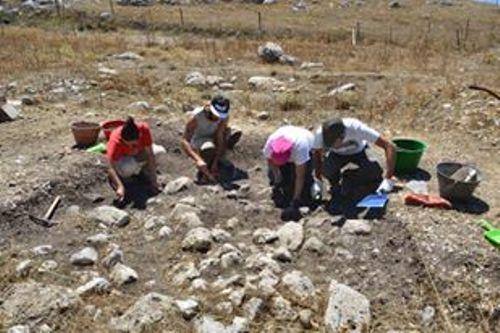 campagna scavi San Benedetto Caltabellott
