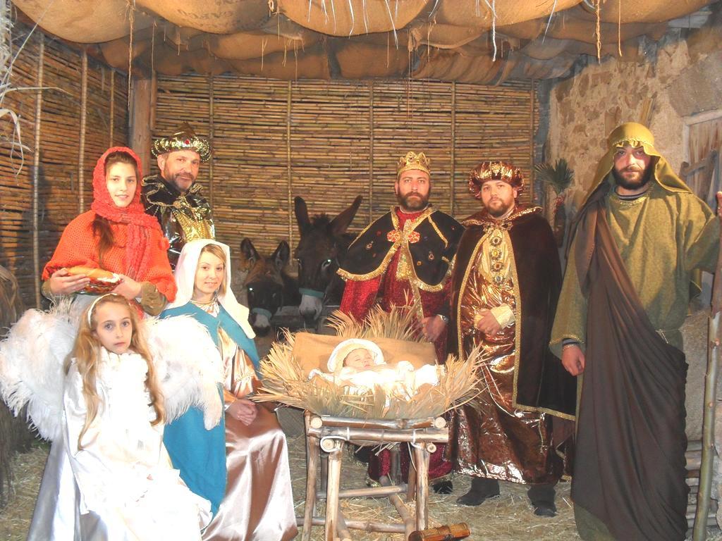 Cattolica Eraclea Il presepe vivente del quartiere A Grazia