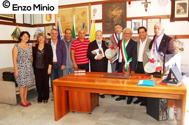 Cattolica Eraclea incontro sindaci italo-francese Foto Enzo Minio