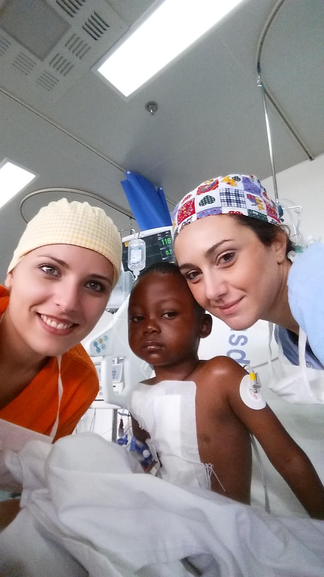 Chiara in Tanzania