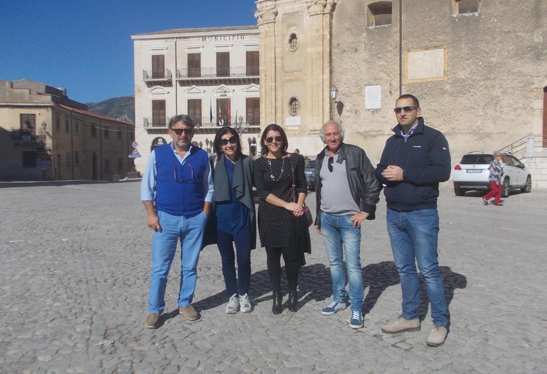 Le due delegazioni amministrative di Palazzo Adriano e Ribera