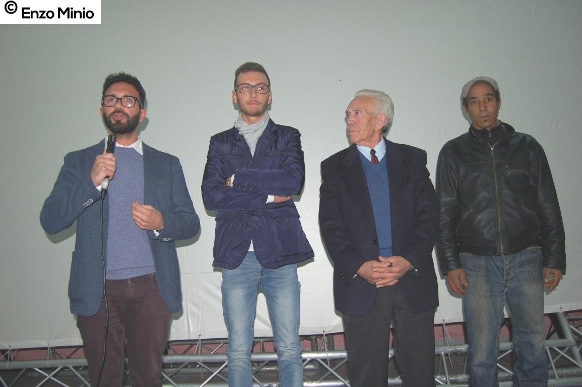 Caltabellotta  regista Picarella e gli attori FOTO MINIO