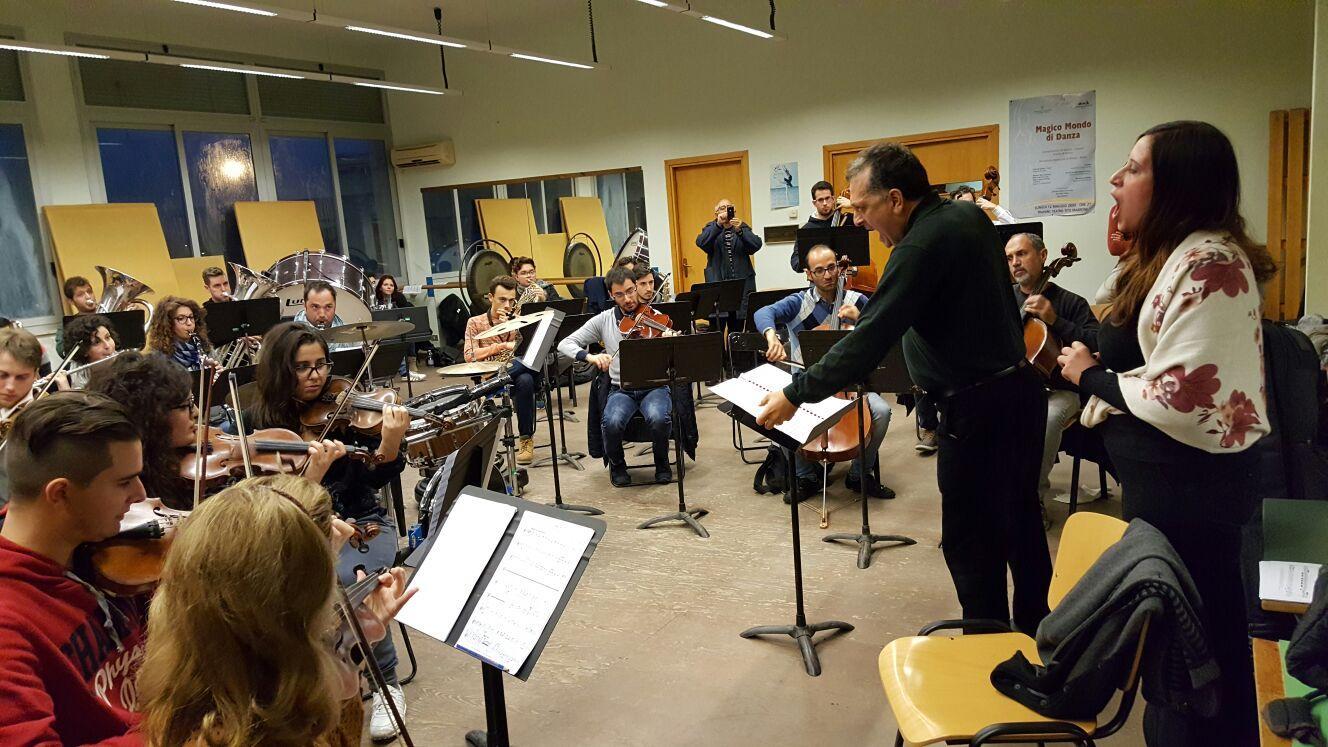 Ribera musicisti per concerto  Toscanini