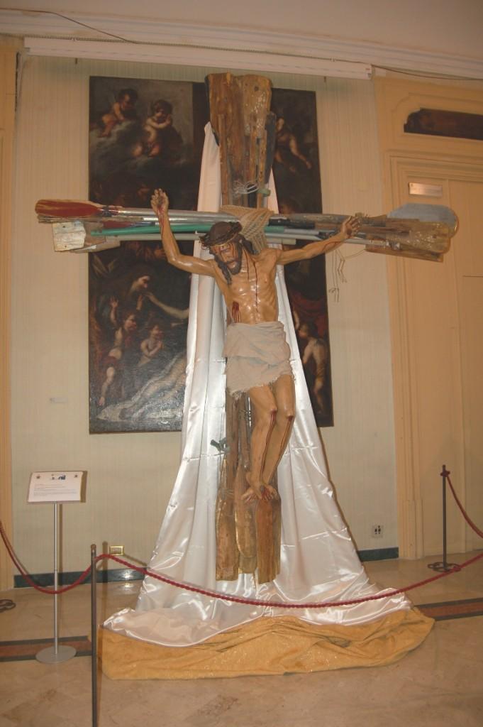 crocifisso donato da Castro al Papa FOTO MINIO