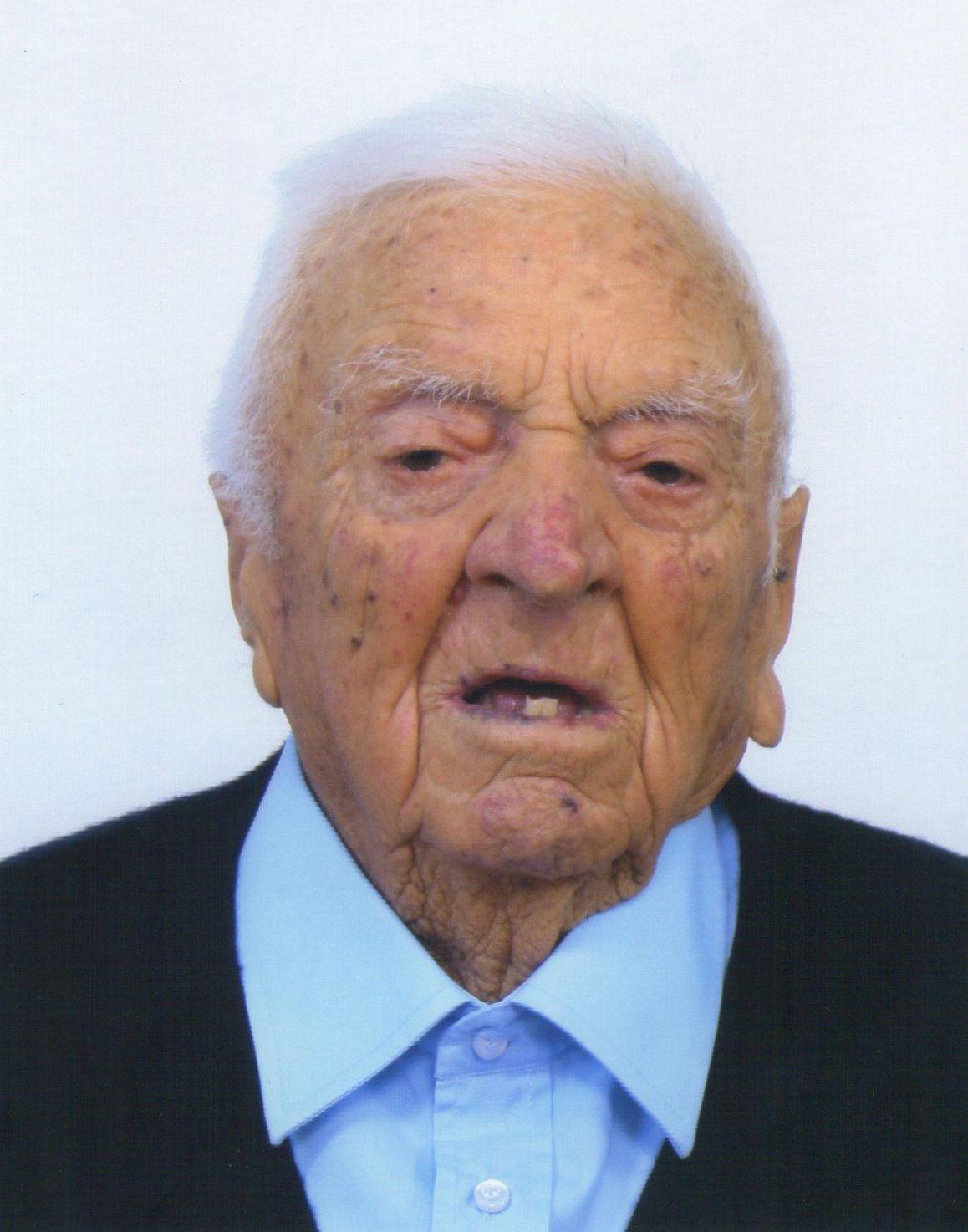 Simonaro Francesco centenario