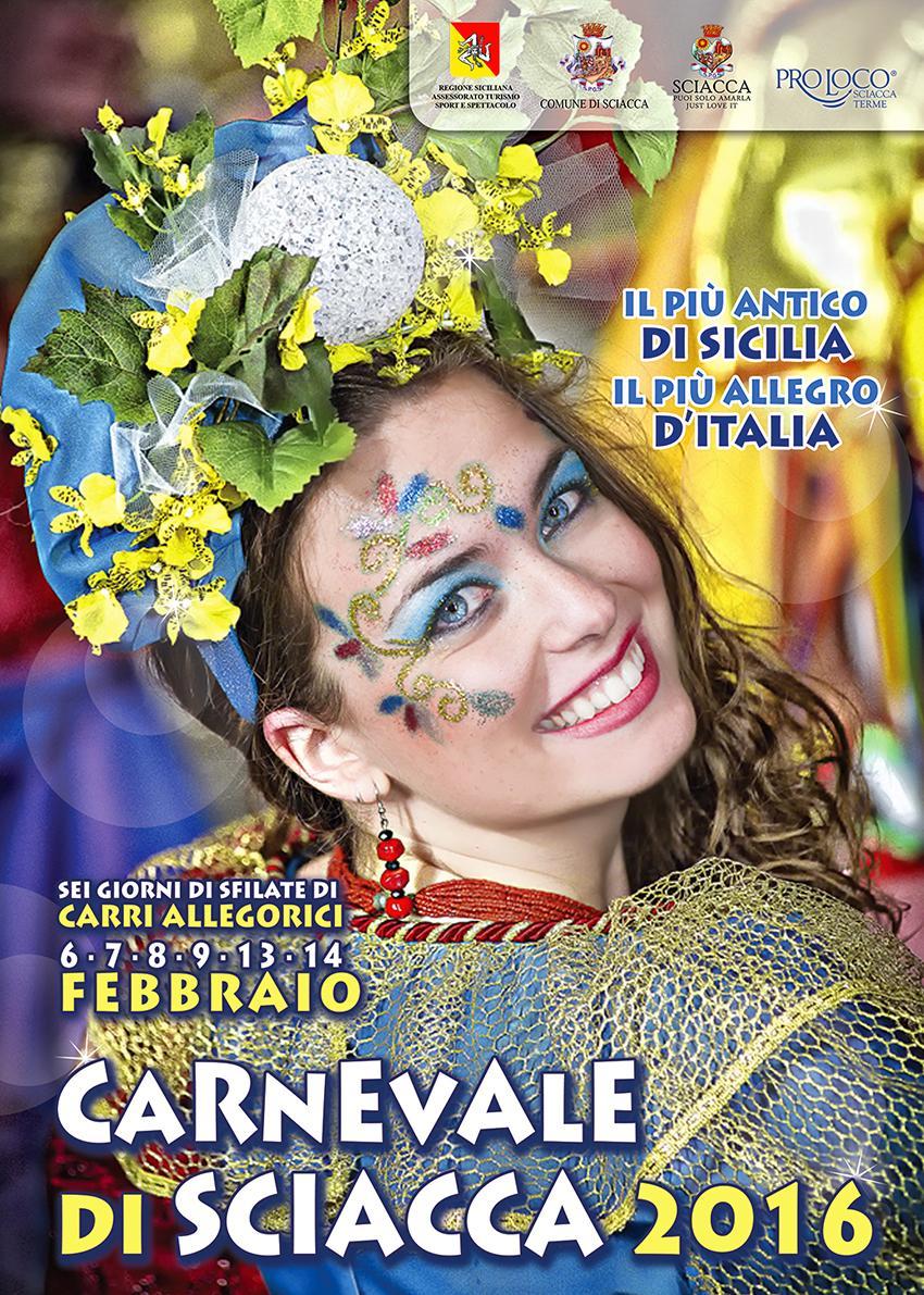 carnevale Sciacca manifesto