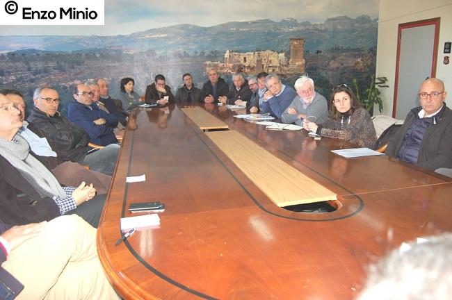 riunione per consorzio 1 FOTO Minio