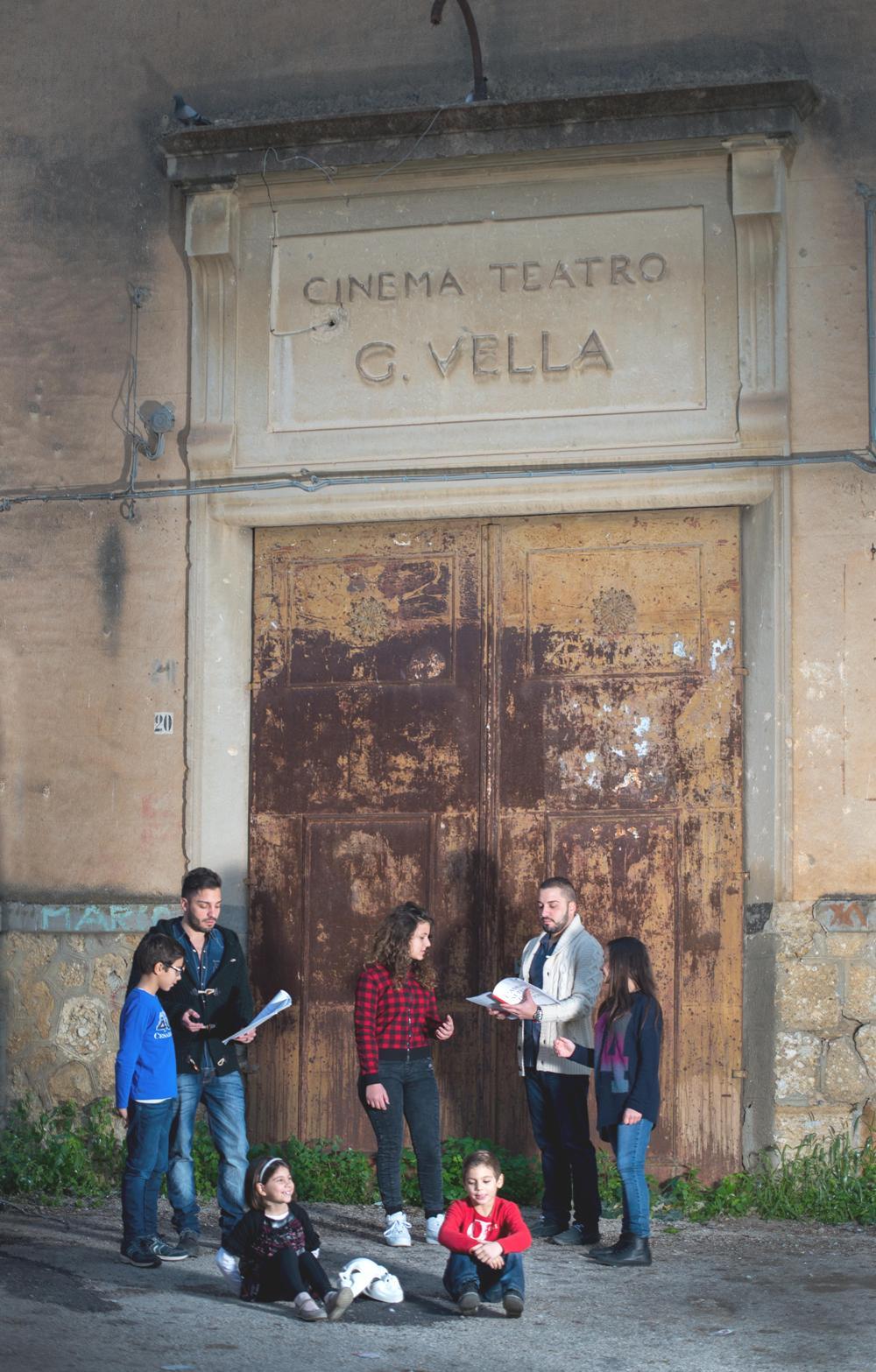teatro Vella e fratelli Cipolla