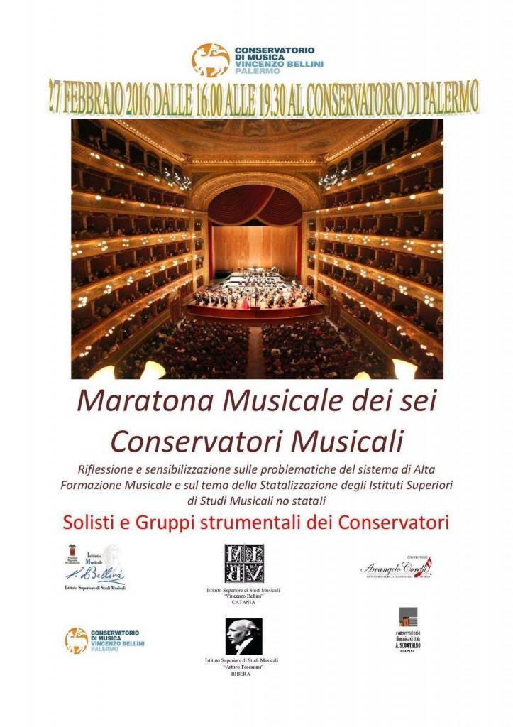 Maratona musicale al Bellini di Palermo