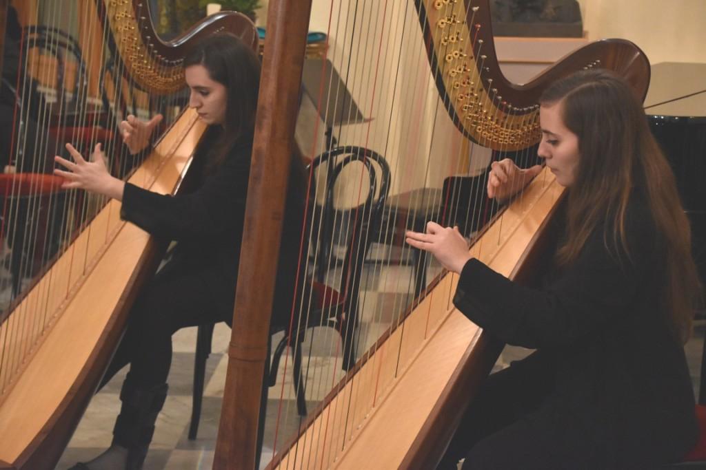 Toscanini al Pirandello duo di arpe - gemelle palazzolo - conservatorio messina