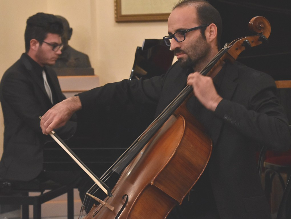 Toscanini al Pirandello duo violoncello e pianoforte