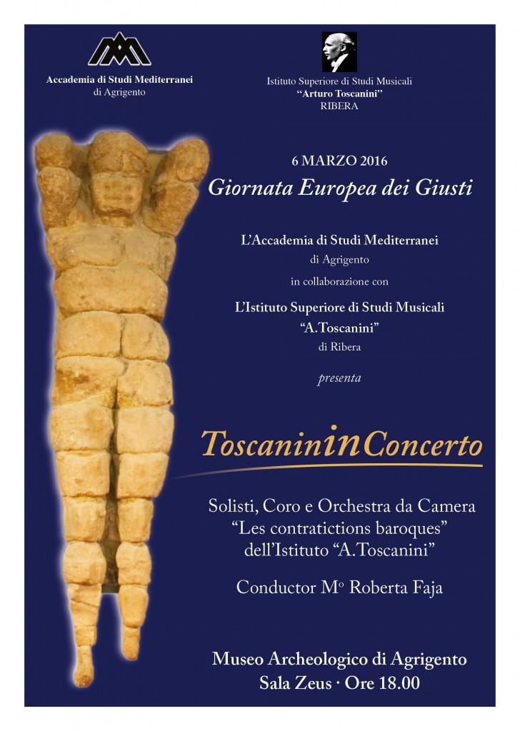 Toscanini al museo archeologico