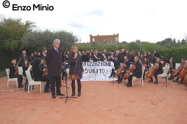 concerto Toscanini nella Valle dei Templi FOTO MINIO