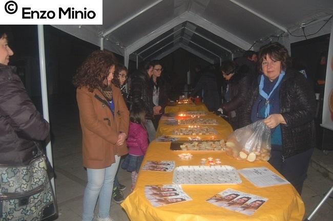 piazza Giovanni XXIII al buio FOTO MINIO