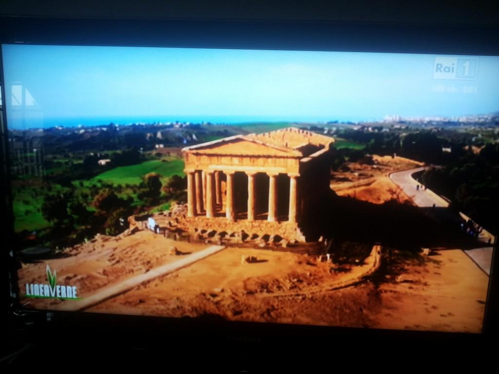 tempio Concordia a Linea Verde